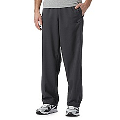 Nike - Dark grey 'Dri-FIT' sports trousers