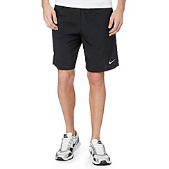 Nike - Black mesh panel running shorts