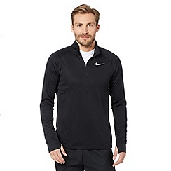 Nike - Black half zip top