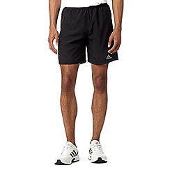 adidas - Black 'Response' running shorts