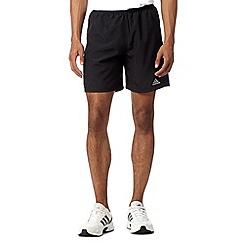 adidas - Black 'Response' running shorts