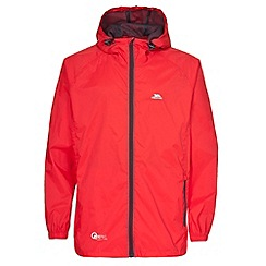 Trespass - Unisex red Qikpac Packaway Jacket