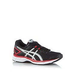 ASICS - Black mesh gel running trainers