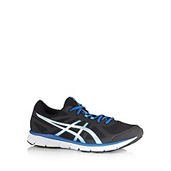 ASICS - Dark grey gel cushioned trainers