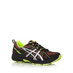 ASICS - Orange mesh panel running trainers