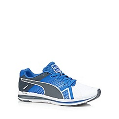 Puma - Blue 'FAAS 300' lace up trainers