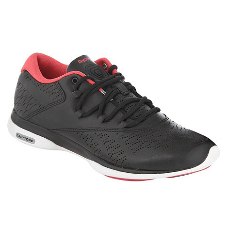 Reebok - Black +Easytone Trend+ trainers
