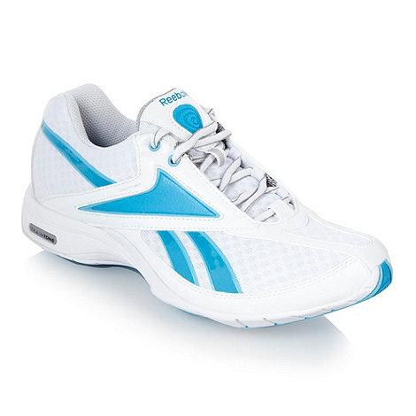 Reebok - Blue +Traintone slim+ trainers