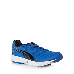 Puma - Blue 'Descendant V2' trainers