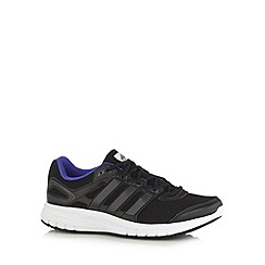 adidas - Black 'Duramo 6' mesh trainers