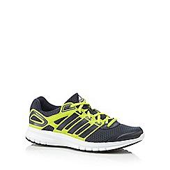 adidas - Dark grey 'Duramo 6' mesh running trainers