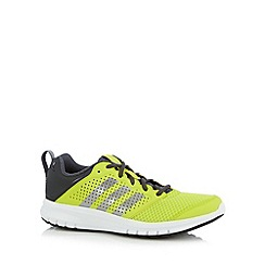 adidas - Yellow 'Madoru' lace up trainers