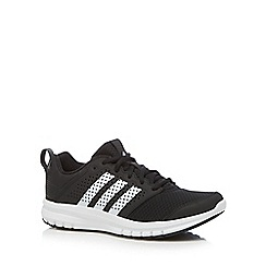 adidas - Black 'Madoru' lace up trainers