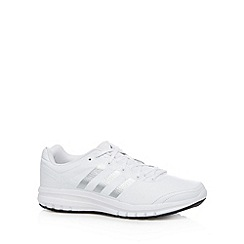 adidas - White 'Duramo 6' leather trainers