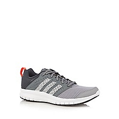 adidas - Grey 'Duramo' lace up trainers