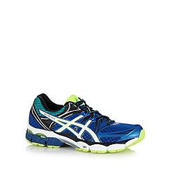 ASICS - Blue gel cushioned trainers