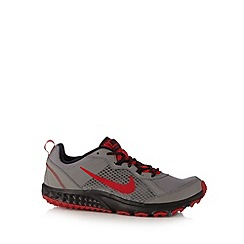 Nike - Grey 'Wild Trail' running trainers