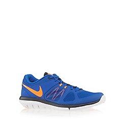 Nike - Blue 'Flex Run 2014' trainers