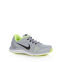 Nike - Grey 'Dual Fusion Run' trainers