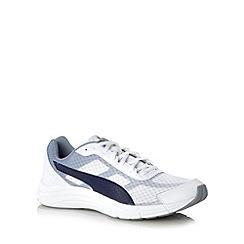 Puma - White 'Expedite' trainers