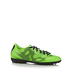 adidas - Neon green 'F50' turf trainers