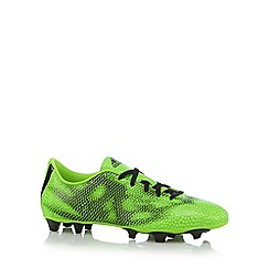 adidas - Neon green 'F50' firm ground trainers