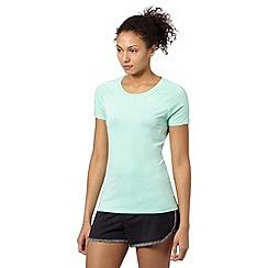 Under Armour - Light green 'HeatGear' fine striped t-shirt