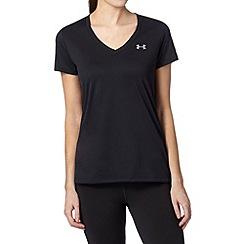 Under Armour - Black V neck gym t-shirt