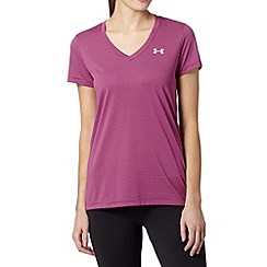 Under Armour - Purple striped gym t-shirt