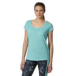 Reebok - Light blue scoop neck sport t-shirt