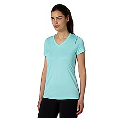 Reebok - Light blue slim sports t-shirt