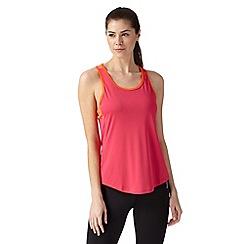 Reebok - Pink 'Playdry' mesh sports vest