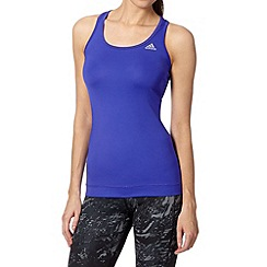 adidas - Dark purple gym tank top