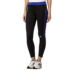 adidas - Black 'Climalite' logo leggings