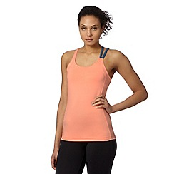 adidas - Peach strappy padded tank top