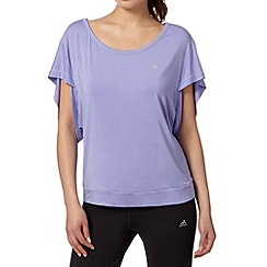 adidas - Light purple yogi airy t-shirt