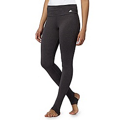 adidas - Dark grey fold down yoga tights