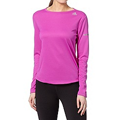 adidas - Pink 'Climalite' long sleeved top