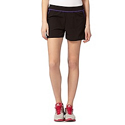 XPG by Jenni Falconer - Black trim lightweight running shorts