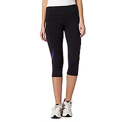 XPG by Jenni Falconer - Black running capri pants