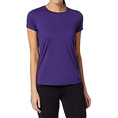 XPG by Jenni Falconer - Purple running crew neck t-shirt