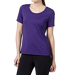 XPG by Jenni Falconer - Purple fitness loose fit t-shirt