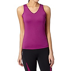 XPG by Jenni Falconer - Pink fitness v neck vest
