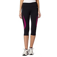 XPG by Jenni Falconer - Black fitness tight performance capri pants