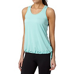 XPG by Jenni Falconer - Green fitness self stripe performance vest