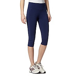 XPG by Jenni Falconer - Navy fitness capri pants