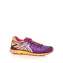 ASICS - Purple 'Zaraca 3' trainers