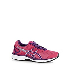 ASICS - Pink gel cushioned trainers