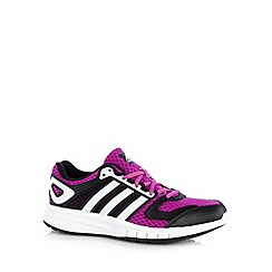 adidas - Purple 'Galaxy' running trainers