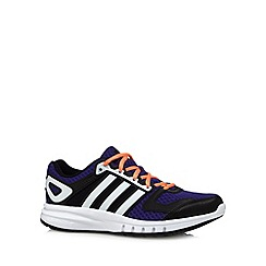 adidas - Dark purple 'Galaxy' running trainers